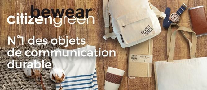 objets publicitaires green, communication green, communication par l'objet écologique