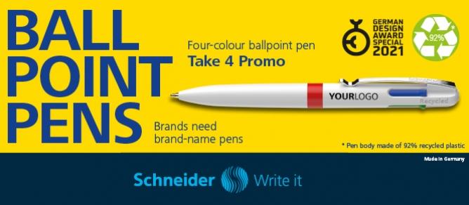 Ballpoint pens Schneider