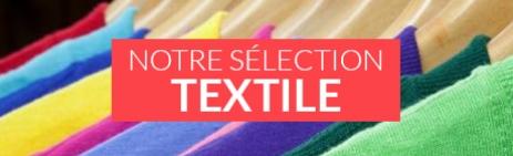 Accessoires textiles, habits et vêtements publicitaires personnalisables